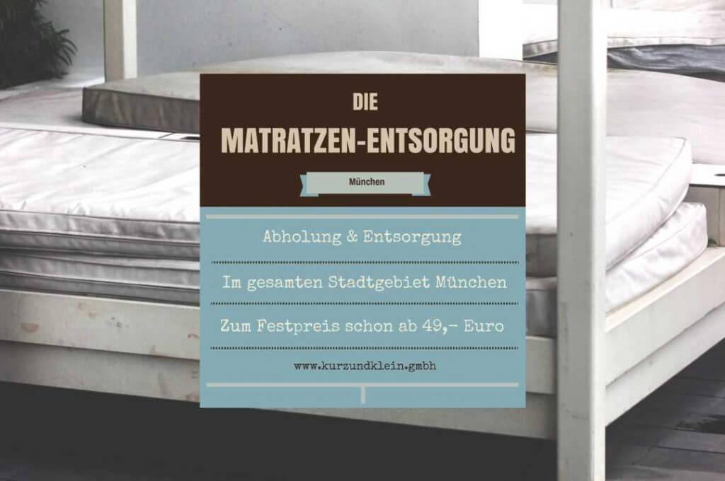 matratze entsorgen archive kurz klein gmbh. Black Bedroom Furniture Sets. Home Design Ideas
