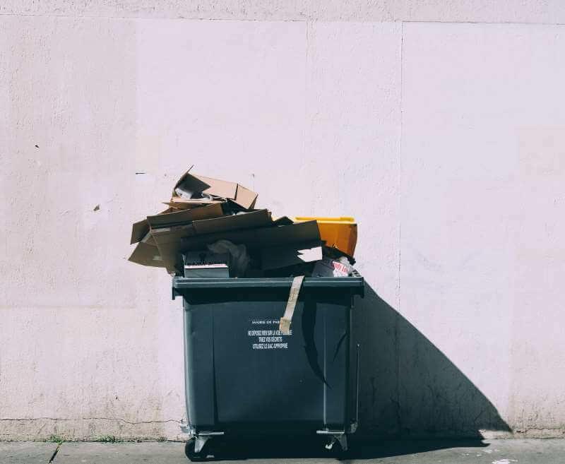 Transport von Abfällen